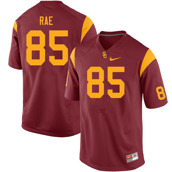 Men #85 Ethan Rae USC Trojans College Football Jerseys Sale-Cardinal