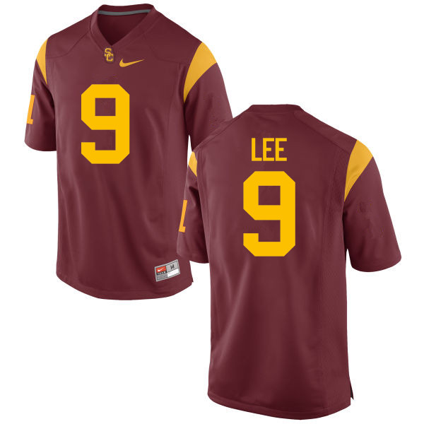Men #9 Marqise Lee USC Trojans College Football Jerseys-Red
